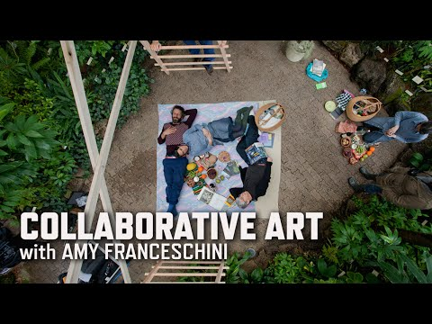 Collaborative Art with Amy Franceschini   KQED Arts