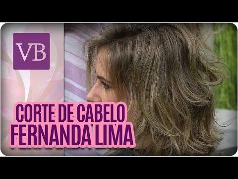 Corte de cabelo do Momento: Fernanda Lima -  Você Bonita (13/07/16)
