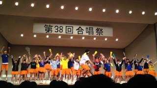 希望ヶ丘高校第38回合唱祭206H c.c.lemon応援ソング