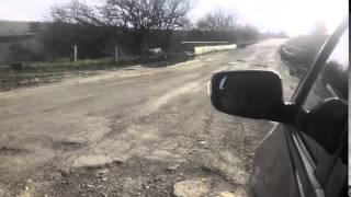 Дороги в Николаевской области (Украина)(Извините за качество видео , снималось на камеру телефона!, 2015-05-11T19:46:40.000Z)