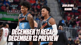 At Least One Porter Jr. Is Playing Well || NBA Fantasy Basketball Recap