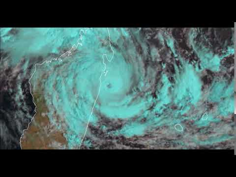 Cyclone Tropical AVA direction Madagascar