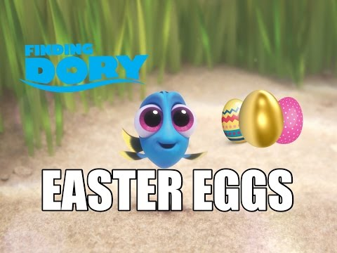 All Finding Dory Easter Eggs! A113, Luxo Ball, Pizza Planet Truck & More!