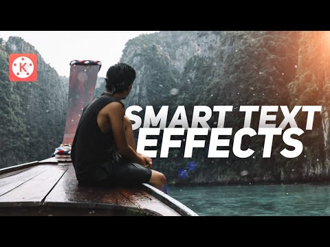 2 Smart Text Effects with Kinemaster ! 🔥👌