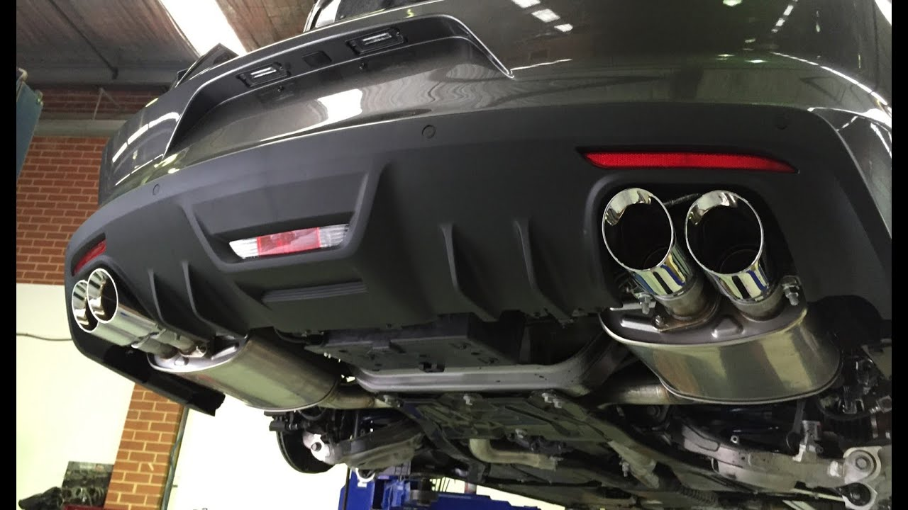 2015 Mustang Exhaust Comparison: Factory vs ROUSH Quad Tip ...