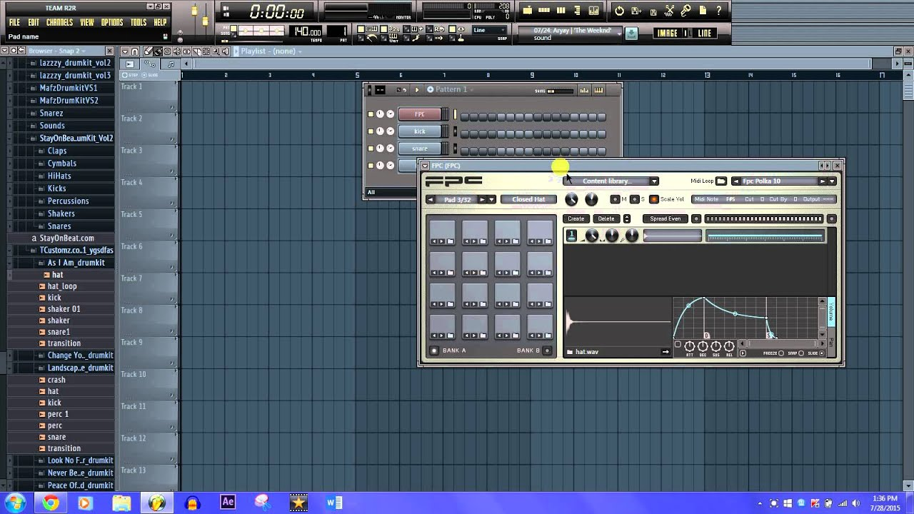 How to assign individual sounds to drum pads and keys on midi keyboard! (FL  Studio)