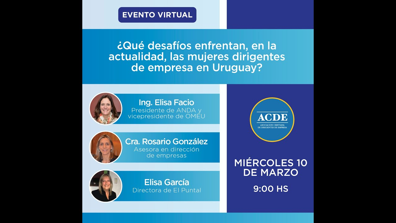 ¿Qué desafíos enfrentan en la actualidad las mujeres dirigentes de empresa en Uruguay?
