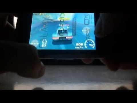 Samsung i5500 Galaxy 550 game Raging Thunder 2