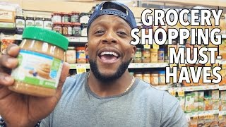 My Healthy Grocery Shopping Essentials /  Alimentos Esenciales