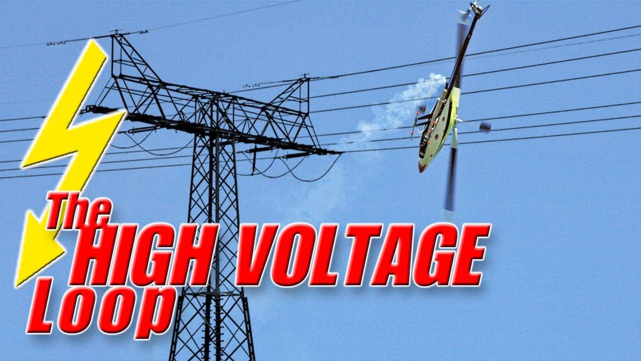 Dangerous Rc Heli Stunt Pirouetting Loop Around Power