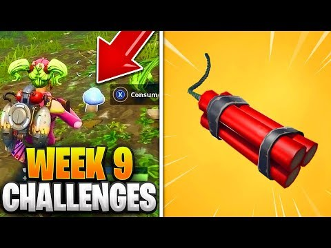 Fortnite Week 9 Season 6 Challenges GUIDE! How To Do Week 6 Challenges In Fortnite - Tutorial