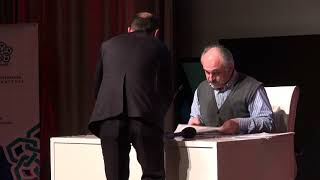 """Prof. Dr. İhsan FAZLIOĞLU'nın """"Türkistan'dan Anadolu'ya Bilim ve Felsefe"""" konulu konferans"""