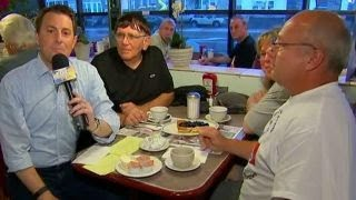 Breakfast with 'Friends': Reaction to Trump's address