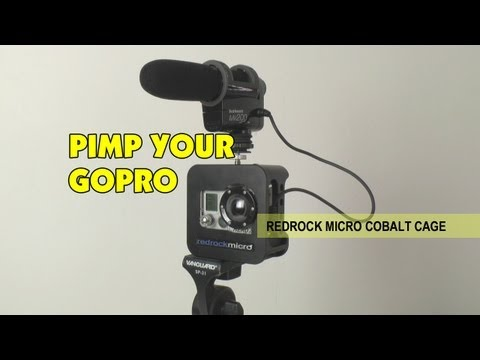 RedRock Micro Cobalt Cage for GoPro Hero 1 2 3 Action Camera