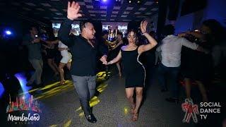 Brandon Ayala & Marcela Arango - salsa social dancing | Mamboland Milano 2018