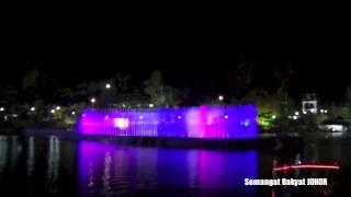JOHOR BAHRU Air Pancuran Berirama | musical fountain