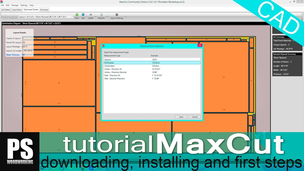 Maxcut tutorial cutting diagrams youtube ccuart Gallery