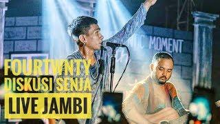 Gambar cover [HD] FOURTWNTY - DISKUSI SENJA | Live Authenticity - Ev Garden - Jambi 2019