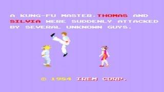 Kung-Fu Master Arcade Gameplay Playthrough
