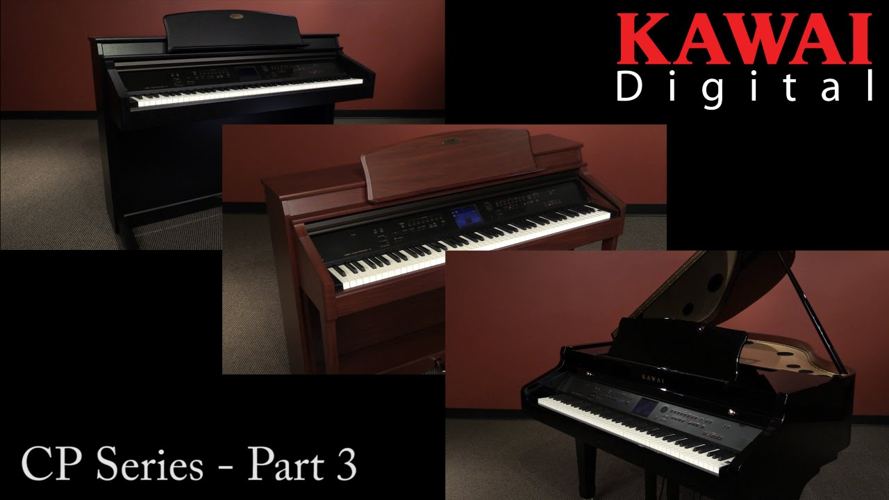 kawai cp series digital pianos 3 of 3 youtube. Black Bedroom Furniture Sets. Home Design Ideas