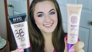 ♥Drugstore BB Cream Battle♥ | Rimmel BB Cream VS. NYC BB Cream Review & Demo