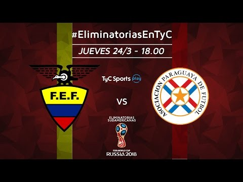 Eliminatorias Sudamericanas: Ecuador vs. Paraguay | #EliminatoriasenTyC