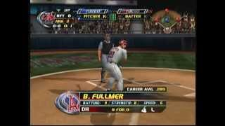 MLB Slug Fest 20-04 (X Box) Game Play