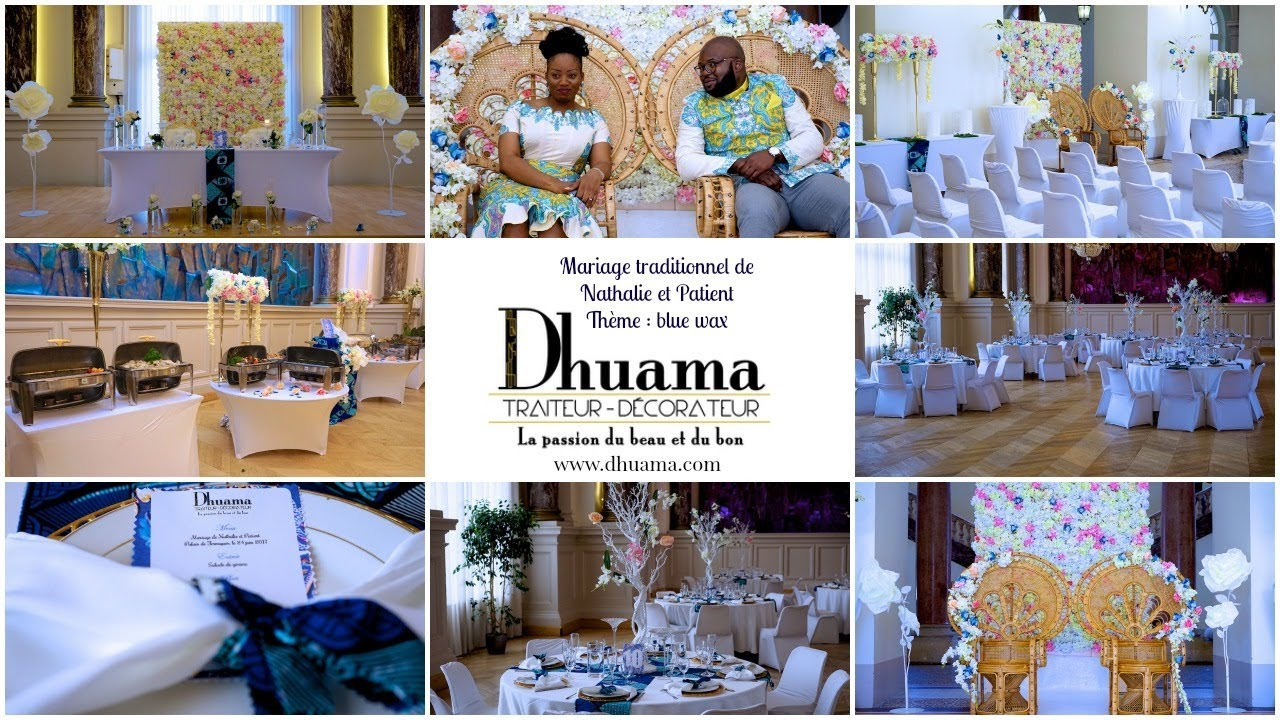 mariage traditionnel de nathalie et patient par dhuama meilleur traiteur africain de paris. Black Bedroom Furniture Sets. Home Design Ideas
