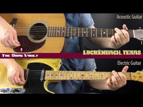 THE SONG VAULT: Luckenbach, Texas | Waylon Jennings