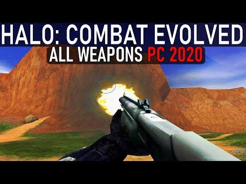 HALO: Combat Evolved PC 2020 - All Weapons [PRE RELEASE]