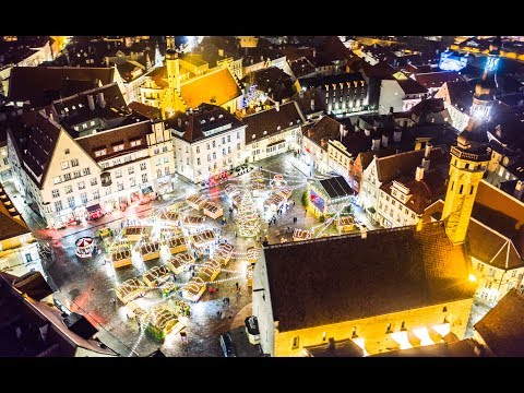 Tallinn Christmas Market is #1 in Europe! video by hilife.