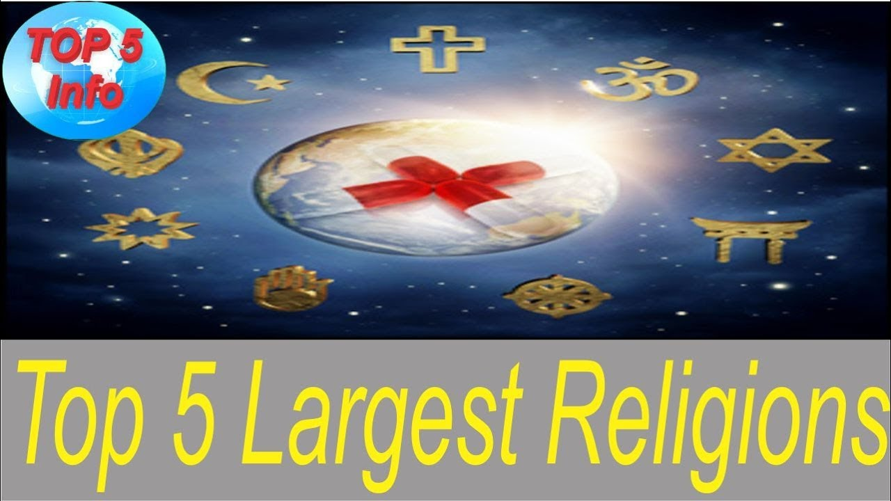 Top Largest Religions In The World YouTube - Top 5 largest religions in the world