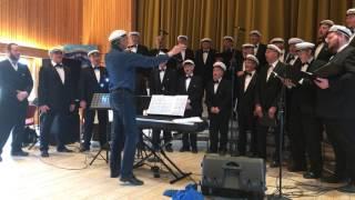 Knut Erik Jensen dirigerer jubilanten