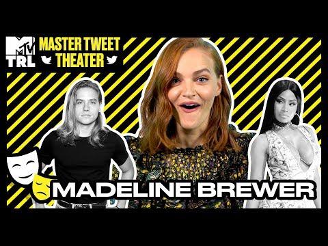 Madeline Brewer Nails Her Kristen Stewart & Ann Dowd Impressions!  Master Tweet Theater 🎭