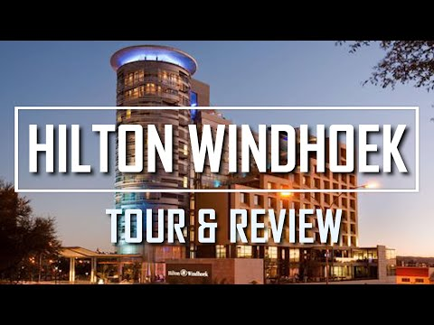 HILTON WINDHOEK NAMIBIA HOTEL REVIEW AND  HOTEL TOUR
