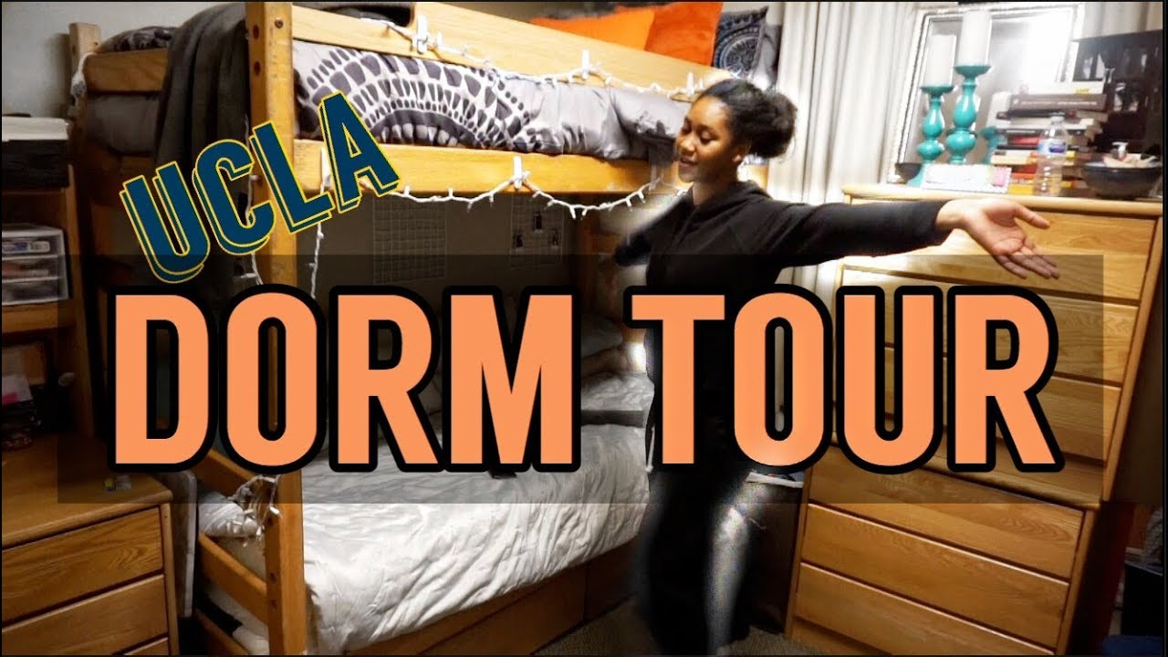 UCLA DORM TOUR 2018 | PLAZA TRIPLE - YouTube
