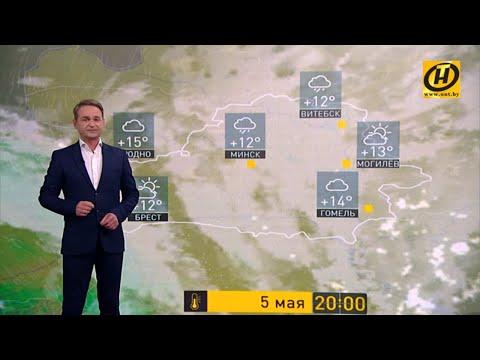 Прогноз погоды на 5 мая: грозы и ливни