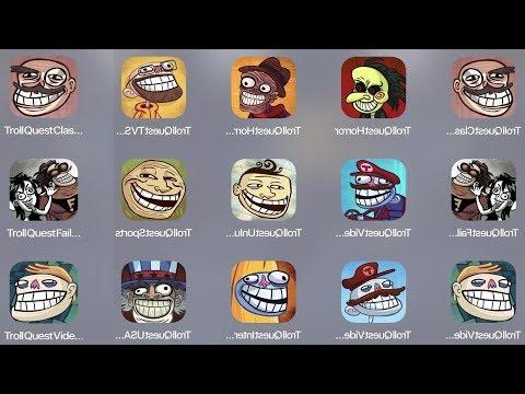 Troll Quest Classic,Troll Horror,Troll TV,Troll Fails,Troll Video,Troll Unlucky,Troll Sport