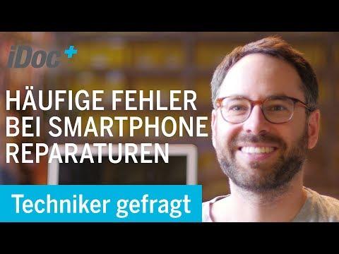 Smartphone Reparatur – Die häufigsten Fehler