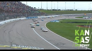 Final Laps: Watch the wild second overtime | NASCAR race at Kansas Speedway