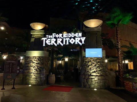 The Forbidden Territory |Dark Dinosaur Ride | IMG Worlds of Adventure Theme Park Dubai |#Funkidz