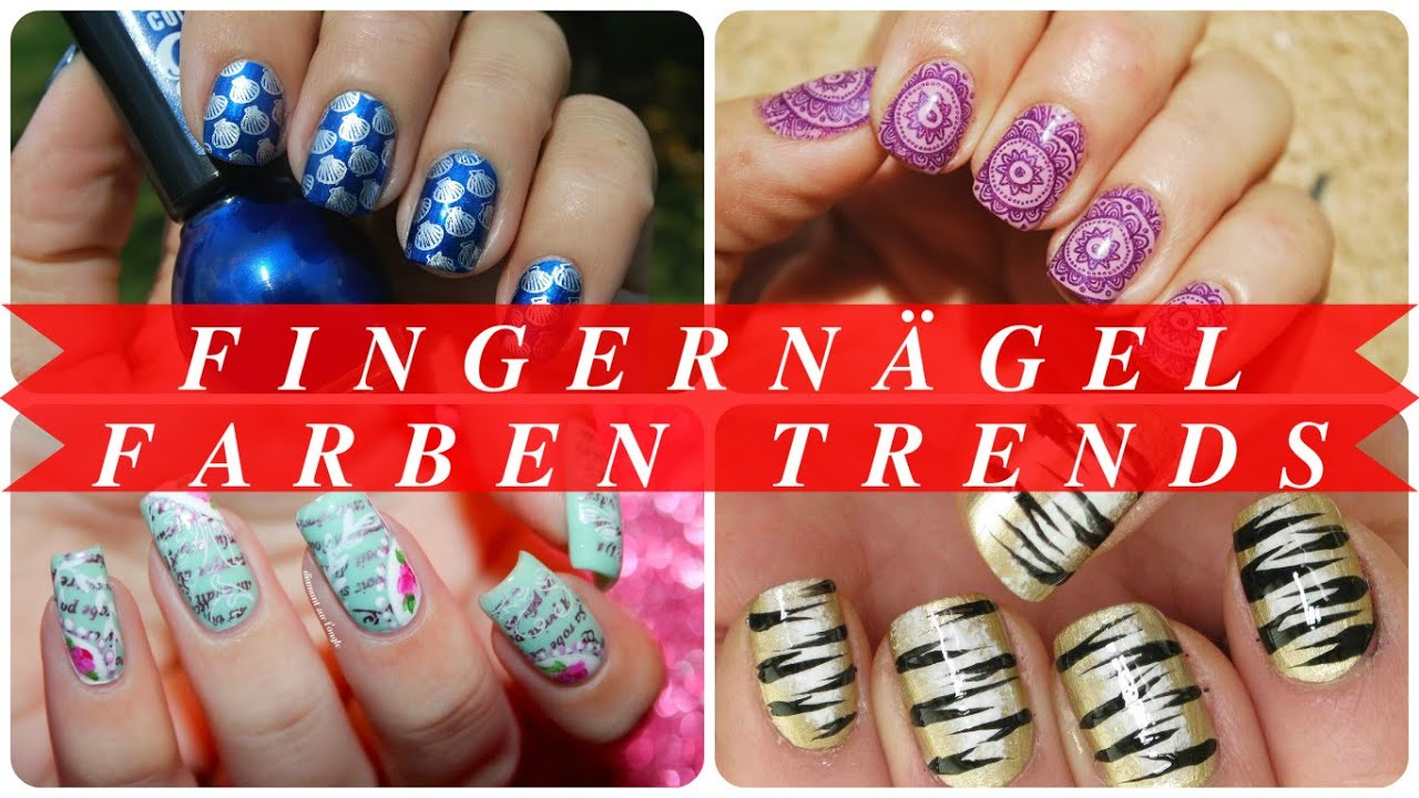 Moderne Nägel Fingernägel Farben Trends Youtube