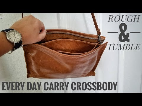 Full Review | How to Condition a Leather Bag | Rough and Tumble Large EDC