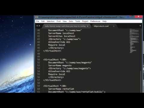 Wamp Server Configuration For  Magento & Zend Framework Project
