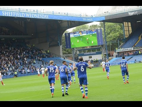 Steven Fletcher's first SWFC goal | Owls v Wigan
