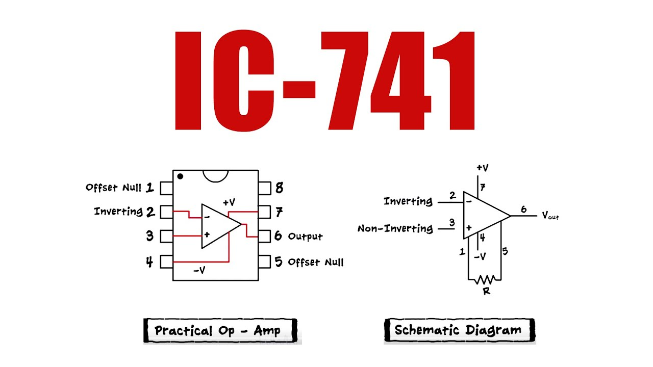 OpAmps   IC 9   Pin numbers, Construction