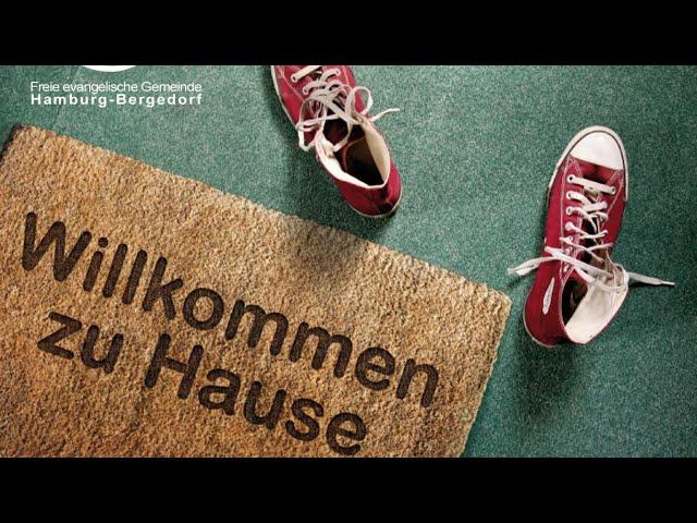 FeG Bergedorf Gottesdienst 04.07.2021: Werft euer Vertrauen nicht weg