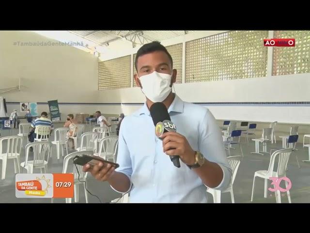 João Pessoa segue vacinando contra a covid-19 nesta segunda-feira (18)-  Tambaú da Gente Manhã
