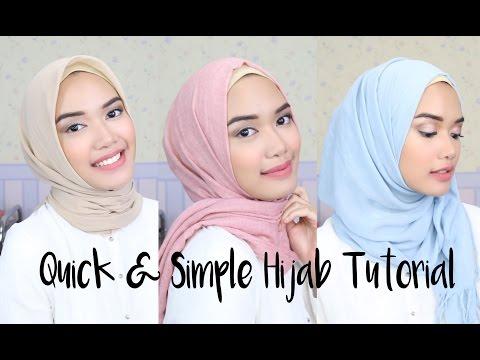 Quick & Simple Hijab Tutorial | DXB ♡
