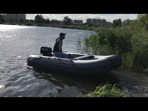 Лодка ПВХ Викинг VN 360HD на воде
